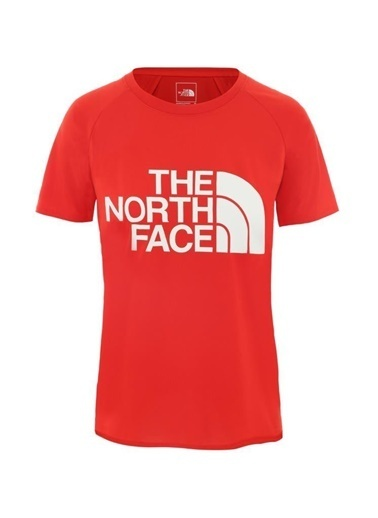 The North Face Graphic Play Hard Kadın T-Shirt Kırmızı Renkli